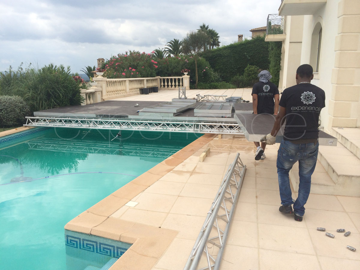 Experience prod couverture piscine plexi cannes for Couverture pour piscine
