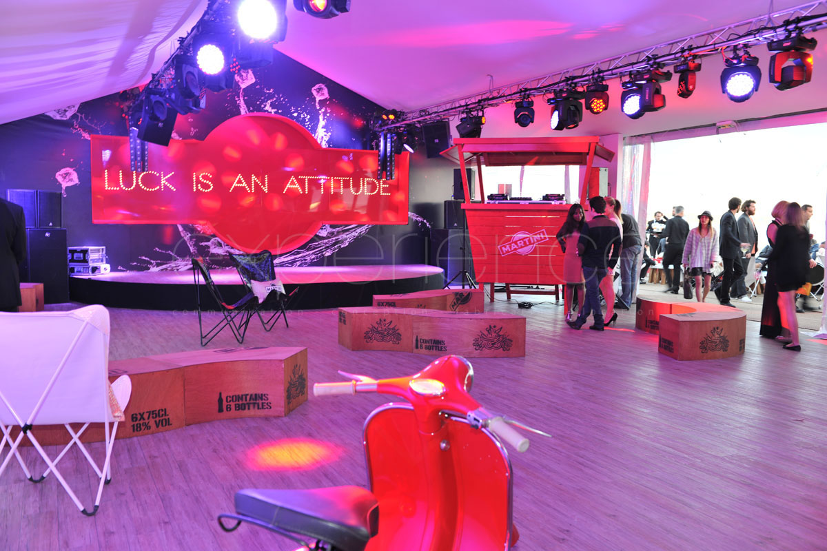 experience prod - location mobilier stand cannes festival du film